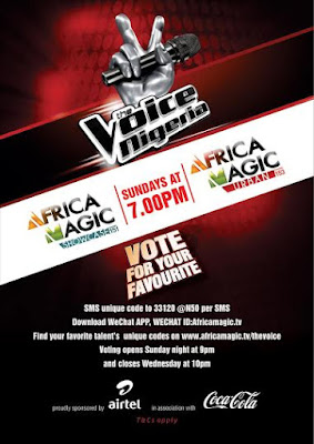 You be the deciding factor on The Voice Nigeria!