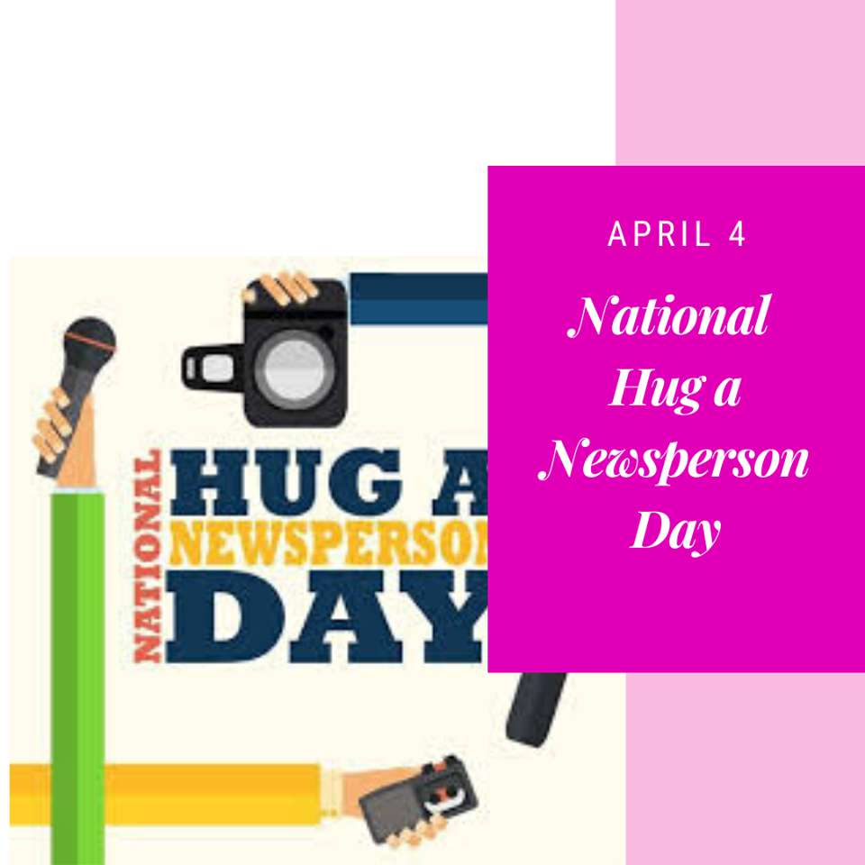 National Hug a Newsperson Day Wishes Unique Image