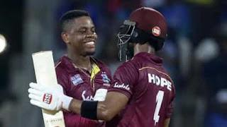 Shimron Hetmyer 139 - Shai Hope 102* - India vs West Indies 1st ODI 2019 Highlights
