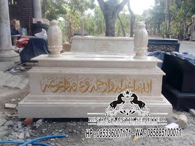 Kijing Makam Marmer Tulungagung, Batu Kijing Marmer, Model Kijing Marmer