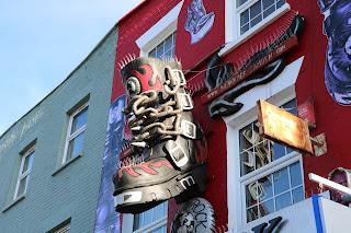 Hermoso Camden Town con muchas tiendas famosas de Londres