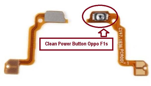 repair power Botton key Oppo F1s not work