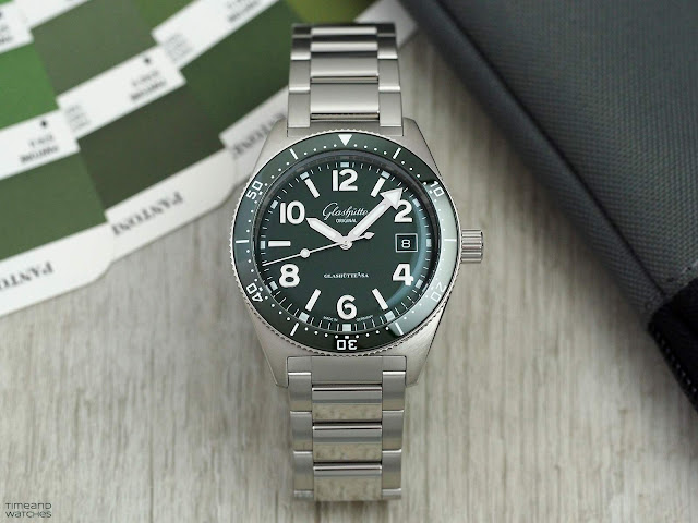 Glashütte Original SeaQ Green