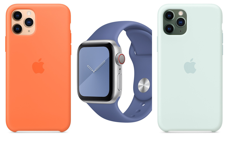 Apple iPhone 11 silicone cases & Watch sport bands in summer colors now available