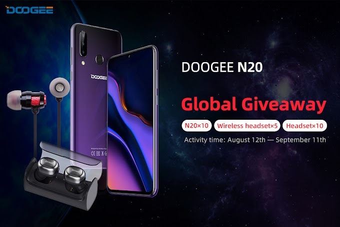Sorteio do Smartphone Doodgee N20 e Mais!!