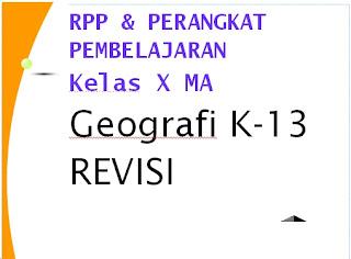File Pendidikan Download Gratis RPP Geografi Kls X K-13 Revisi Beserta Perangkat Lainya