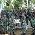 PAPUA: Yonif Raider 100/ PS Terima Kunjungan Dari Staff Ahli Pangdam I/ BB Bidang OMP