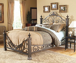 Baroque Style Steel Bed