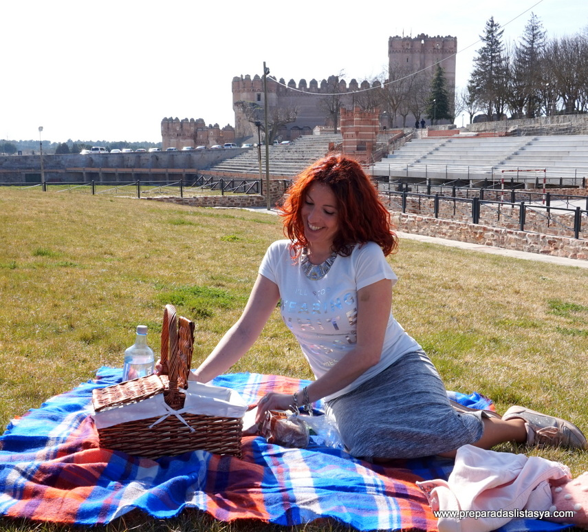 Cestita de picnic dos tapas