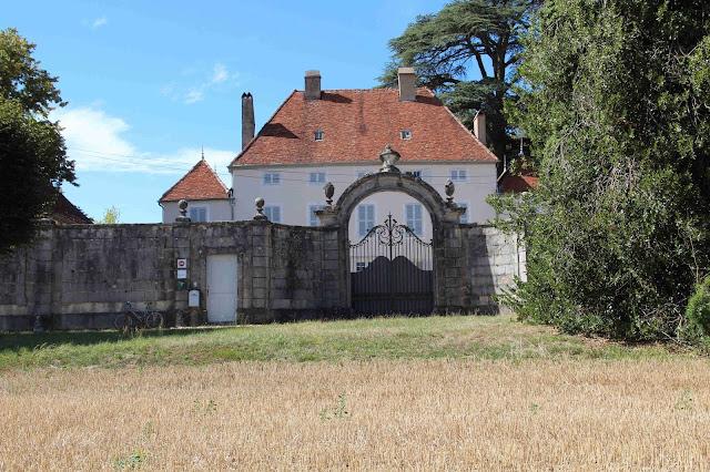 Le château de Sermange