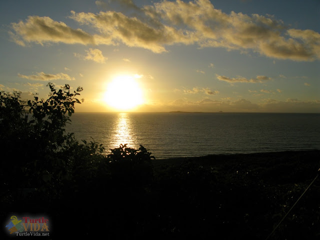 Sunset at the Virgin Islands Campground