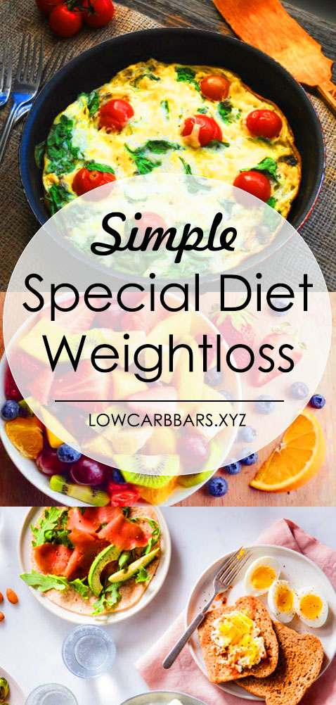 Special Diet Weightloss - Here are 14 day diet weightloss tips, Simple diet plan weightloss recipe, Low carb meals weightloss atkins diet, Strict diet plan weightloss recipe, Fruit diet plan weightloss, also Diet plans to lose weight for women. There are too, Special Diet recipes that Grain Free, for Losing Weight, Low Carb, and Healthy Recipes. #specialdiet #specialdietary #specialdietforweightloss #simpledietplanweightlossrecipe