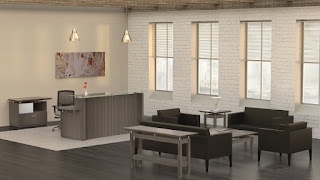 Mayline Sterling Reception Furniture at OfficeAnything.com