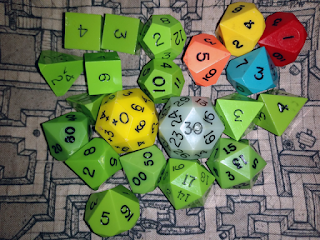 My Current Gaming Dice