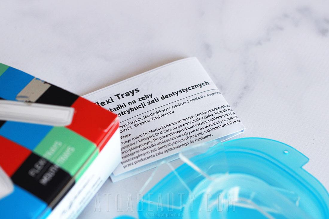 NakŁadki termokurczliwe do wybielania zębów w domu Dr. Martin Schwarz