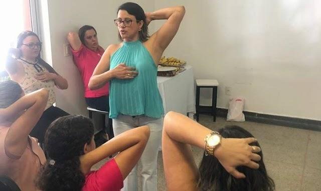 Senador Canedo: Prevenção e cuidado com o câncer de mama fazem parte da rotina no município