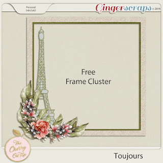 Free Frame Cluster From our Toujours Collection