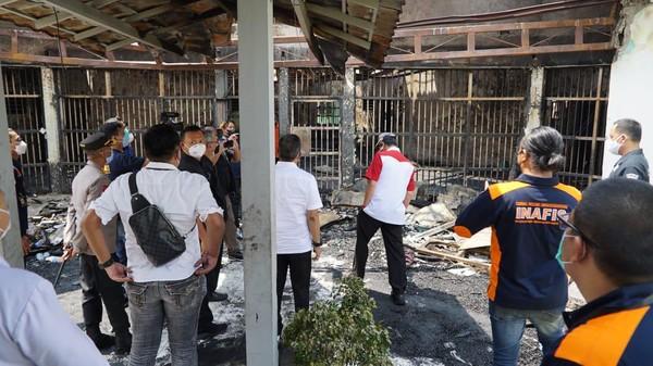 Kebakaran Tewaskan 41 Orang Napi Lapas Tangerang Jadi Sorotan Dunia