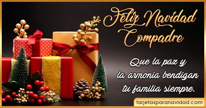 feliz navidad compadre