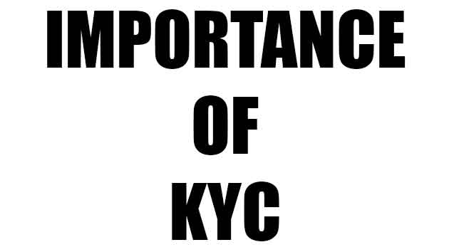 Importance of kyc
