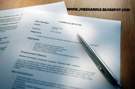 Best Way To Write An Curriculum Vitae (CV) For A Job Opportunity (+ ...