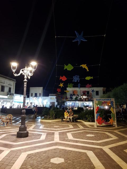 Sant'Antioco di sera