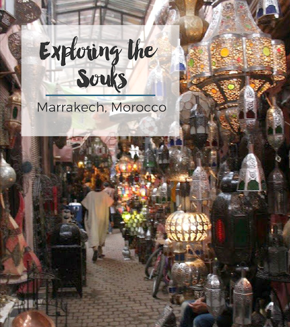 Exploring the Souks of Marrakech // Morocco // A Suitcase & a Stamp