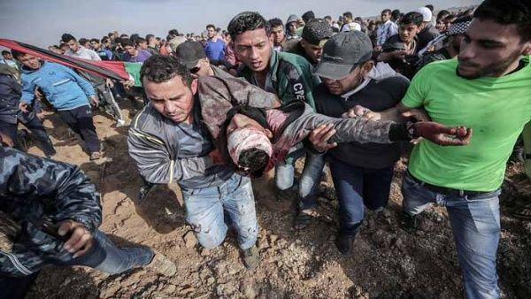 Sube a 44 número de palestinos muertos en protestas en Gaza