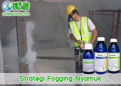 strategi fogging nyamuk
