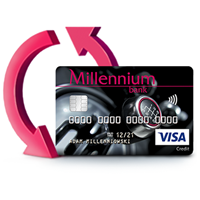 Zmiany w moneybacku dla posiadaczy kart kredytowych Alfa i Impresja w Banku Millennium
