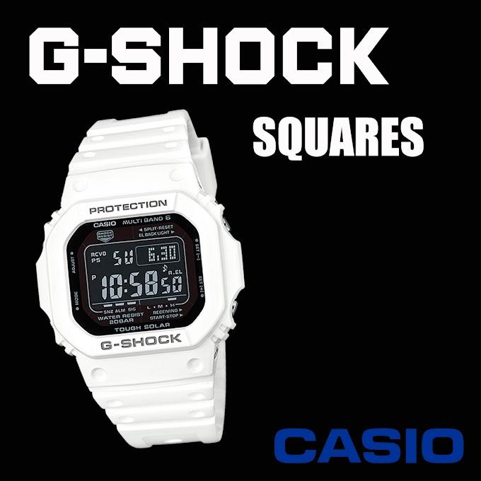 รวม G-Shock ทรงเหลี่ยม สุดคลาสสิคตลอดกาลจาก Casio