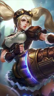 Layla Malefic Gunner Heroes Marksman of Skins V4