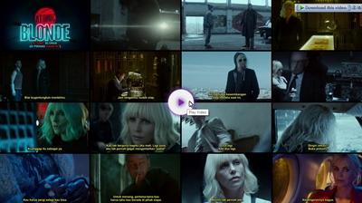 Screenshots Download Film Gratis Atomic Blonde (2017) BluRay 480p MP4 Subtitle Indonesia 3GP Nonton Film Gratis Free Full Movie Streaming