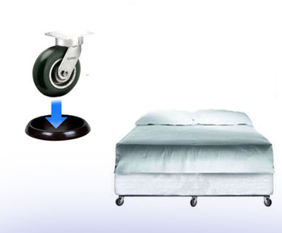 Furniture Wheel Stoppers More Rolling Beds And Chairs