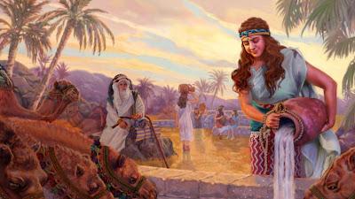 Uma grande mensagem profética por trás de Rebeca, a noiva de Isaque
