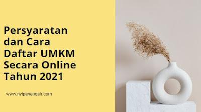 daftar online umkm 2021 link daftar online umkm daftar blt umkm online
