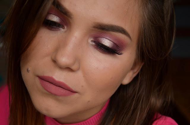 Makijaż SPOTLIGHT w odcieniach fioletu | Melkior Professional