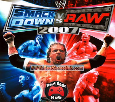 WWE SmackDown vs Raw 2007 PC Game Free Download