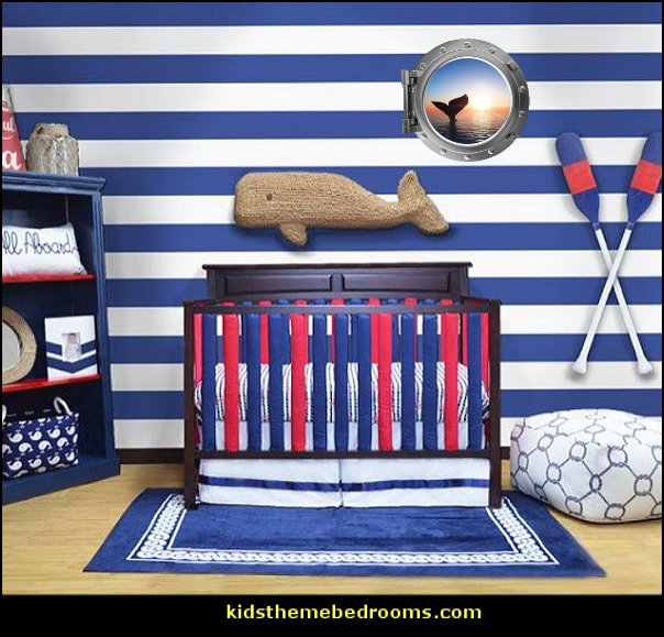 whale baby nursery whale baby nursery decor  whale nursery decor Nautical Theme Nursery