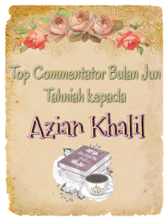 Top Commentator bulan Jun 2019.. Tahniah...!