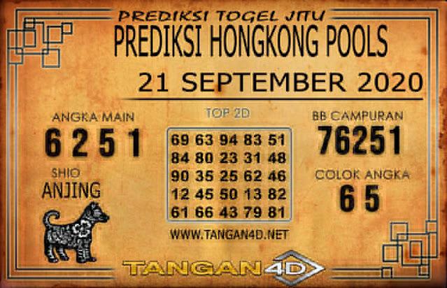 PREDIKSI TOGEL HONGKONG TANGAN4D 21 SEPTEMBER 2020