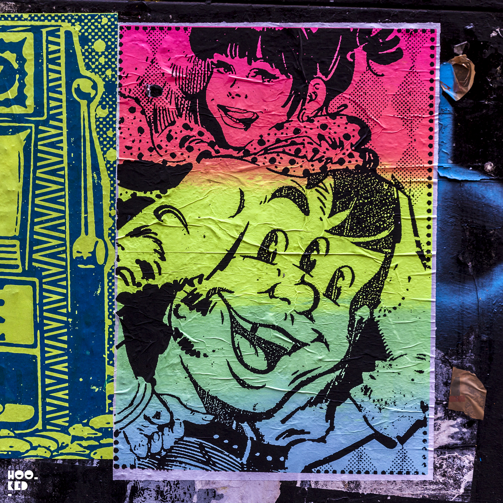 Street Artist Ben Rider takes his fluoro ink obsession to the streets