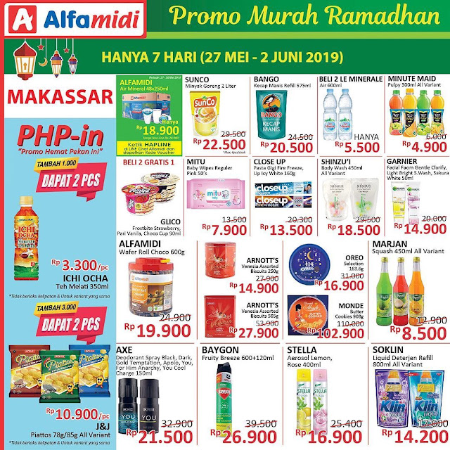 #Alfamidi - #Promo #Katalog 7 Hari Periode 27 Mei - 02 Juni 2019