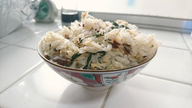 こんな食べ方あったんだ!アジの干物の炊き込みご飯レシピ