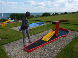 Crazy Golf at the North Marine Putting Greens in Bridlington