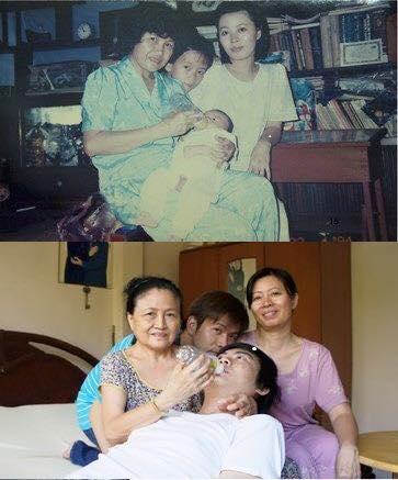foto unik keluarga yang tidak berubah momennya setelah puluhan tahun-12