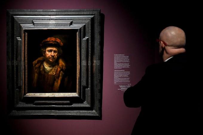 Rembrandt-képek ellopása hiúsult meg egy brit műcsarnokban
