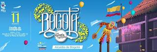 """Desfile de comparsas de Bogotá 2019 """"Bogotá siente la fiesta"""""""