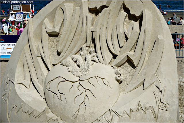 Escultura de Arena de Jaku Zimacek (Kuba)