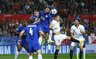 Leicester City vs Sevilla 2-0